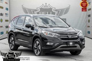 Used 2015 Honda CR-V Touring, NAVI, BACK-UP CAM, BLIND SPOT CAM, SUNROOF for sale in Toronto, ON