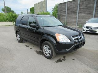 Used 2003 Honda CR-V 2003 Honda CR-V - 4WD EX Auto w-Leather for sale in Toronto, ON