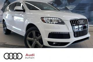 Used 2015 Audi Q7 3.0T + 3rd Row | Nav | Pano Roof for sale in Whitby, ON