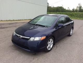 Used 2007 Honda Civic 4 portes, boîte manuelle, LX for sale in Quebec, QC