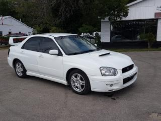 Used 2004 Subaru Impreza WRX for sale in Barrie, ON