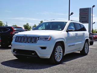 Used 2018 Jeep Grand Cherokee OVERLAND *CUIR*TOIT PANO*GPS*HITCH* for sale in Brossard, QC