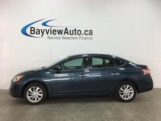 Used 2015 Nissan Sentra 1.8 SV - AUTO! HEATED SEATS! A/C! CRUISE! ALLOYS! for sale in Belleville, ON