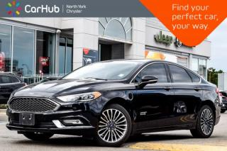 Used 2018 Ford Fusion Energi Platinum|Sunroof|GPS|Backup.Cam|Bluetooth|SiriusXM|Keyless.Go| for sale in Thornhill, ON