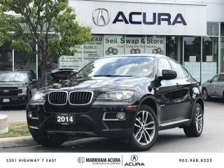 Used 2014 BMW X6 xDrive35i Premium Pkg - Navi, Parking Sensors for sale in Markham, ON