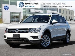 Used 2019 Volkswagen Tiguan Trendline 2.0 8sp at w/Tip 4M for sale in Orleans, ON