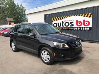 Used 2010 Volkswagen Tiguan for sale in Laval, QC