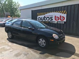 Used 2004 Dodge SX 2.0 Berline 4 portes de base for sale in Laval, QC