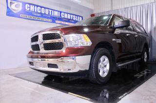 Used 2017 RAM 1500 Cabine quad 4RM, 140,5 po SLT for sale in Chicoutimi, QC