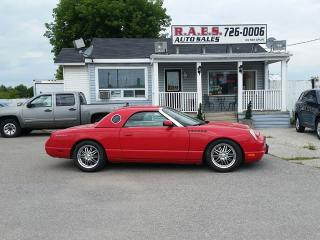 Used 2002 Ford Thunderbird Convertible Two Tops Hard/Soft Top for sale in Barrie, ON