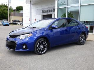 Used 2014 Toyota Corolla Berline S - CVT - Toit ouvrant - Bluetoo for sale in Trois-Rivières, QC