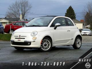 Used 2014 Fiat 500 C LOUNGE + LUXURY PACK + CUIR + PARK ASSIS for sale in Magog, QC