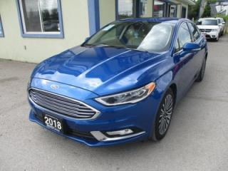 Used 2018 Ford Fusion ALL-WHEEL DRIVE TITANIUM MODEL 5 PASSENGER 2.0L - ECO-BOOST.. NAVIGATION.. LEATHER.. HEATED/AC SEATS.. SUNROOF.. BACK-UP CAMERA.. for sale in Bradford, ON