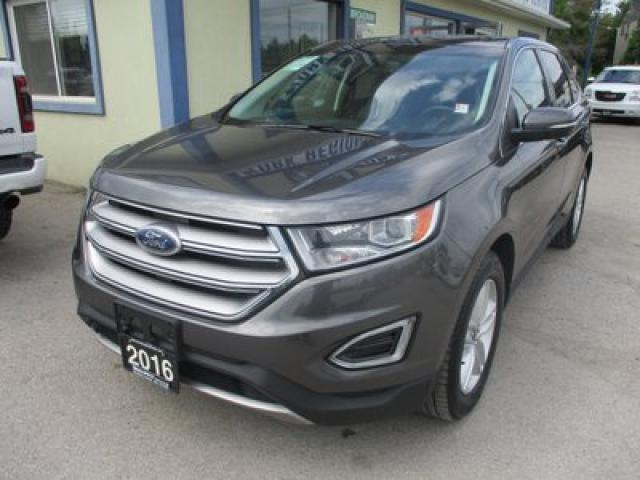 2016 Ford Edge ALL-WHEEL DRIVE SEL MODEL 5 PASSENGER 2.0L - ECO-BOOST.. NAVIGATION.. LEATHER.. HEATED SEATS.. PANORAMIC SUNROOF.. BACK-UP CAMERA..