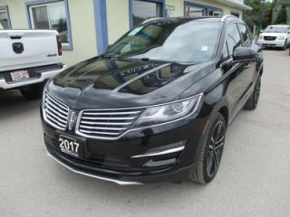Used 2017 Lincoln MKC LOADED ALL-WHEEL DRIVE 5 PASSENGER 2.3L - TURBO.. NAVIGATION.. LEATHER.. HEATED/AC SEATS.. PANORAMIC SUNROOF.. BACK-UP CAMERA.. for sale in Bradford, ON