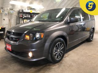 Used 2018 Dodge Grand Caravan GT * Leather seats with perforated inserts * Power lift gate/sliding doors/lift gate * Power mid row/vent windows * Remote start * 3.6L Pentastar VVT for sale in Cambridge, ON
