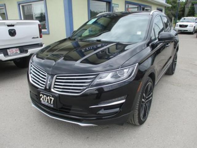 2017 Lincoln MKC LOADED ALL-WHEEL DRIVE 5 PASSENGER 2.3L - TURBO.. NAVIGATION.. LEATHER.. HEATED/AC SEATS.. PANORAMIC SUNROOF.. BACK-UP CAMERA..