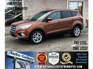 Used 2017 Ford Escape SE *B.tooth/Back.Cam/Htd Seats for sale in Winnipeg, MB