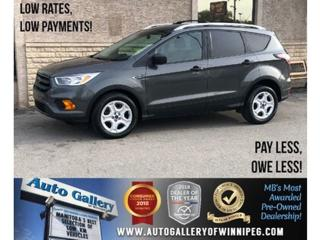 Used 2017 Ford Escape S *B.tooth/Back.Cam for sale in Winnipeg, MB