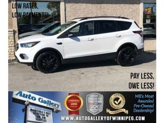 Used 2018 Ford Escape Titanium *AWD/Navi/B.tooth/Htd 1/2 Lthr/Pano Roof for sale in Winnipeg, MB