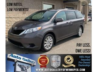 Used 2013 Toyota Sienna LE *AWD/Backup Cam/7 Passengers for sale in Winnipeg, MB