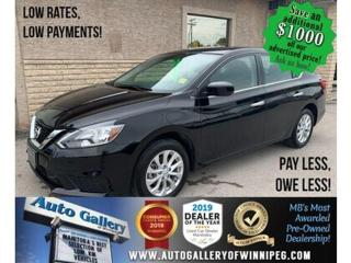 Used 2019 Nissan Sentra SV *B.tooth/Back.Cam/Htd Seats/Roof for sale in Winnipeg, MB