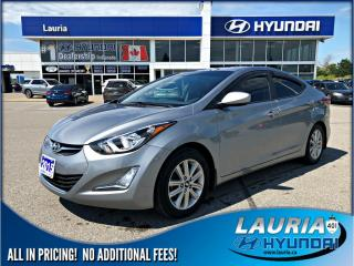 Used 2015 Hyundai Elantra Sport Appearance - Low kms for sale in Port Hope, ON