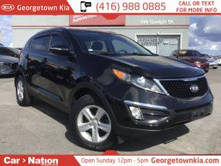 Used 2014 Kia Sportage LX 6SPD MANUAL| 1 OWNER| CLEAN CARFAX| LIKE NEW for sale in Georgetown, ON