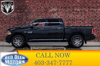 Used 2017 RAM 1500 4x4 Crew Cab Limited Leather Roof Nav for sale in Red Deer, AB