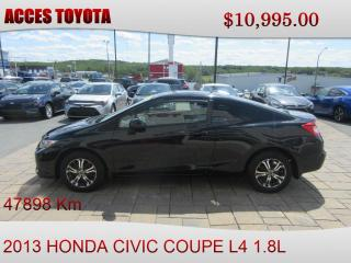 Used 2013 Honda Civic BAS KM for sale in Rouyn-Noranda, QC