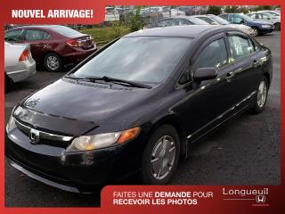 Used 2008 Honda Civic DX-G ** Pas cher ** VENDU for sale in Longueuil, QC