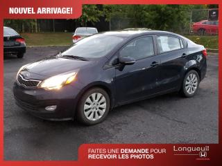 Used 2014 Kia Rio LX for sale in Longueuil, QC