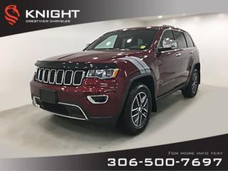 Used 2017 Jeep Grand Cherokee Limited V6 | Sunroof | Remote Start for sale in Regina, SK