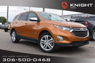 Used 2018 Chevrolet Equinox Premier | Leather | Heated & Cooled Seats | Low KMs | for sale in Swift Current, SK