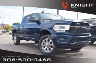 New 2019 RAM 2500 Big Horn Mega Cab | Heated Seats and Steering Wheel | Remote Start for sale in Swift Current, SK