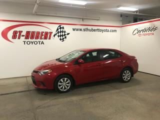 Used 2015 Toyota Corolla 2015 Toyota Corolla - 4dr Sdn CVT LE for sale in St-Hubert, QC
