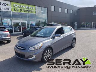 Used 2015 Hyundai Accent GLS, mags, toit, a/c 16 605 km for sale in Chambly, QC