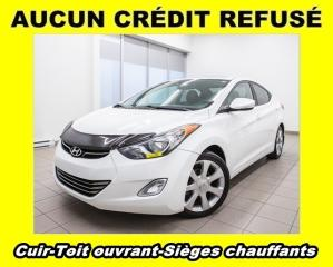 Used 2013 Hyundai Elantra LIMITED TOIT OUVRANT SIÈGES CHAUFFANTS *CUIR* for sale in St-Jérôme, QC