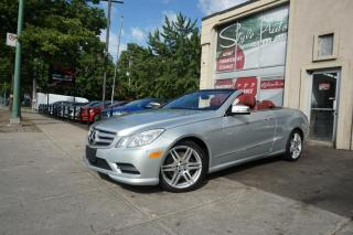 Used 2013 Mercedes-Benz E-Class E 350 cabriolet 2 portes PA for sale in Laval, QC