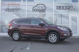 Used 2016 Honda CR-V EX AWD ***GARANTIE 10 ANS/200 000 KM*** for sale in Québec, QC