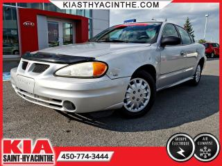 Used 2005 Pontiac Grand Am GR ÉLECTRIQUE + A/C for sale in St-Hyacinthe, QC