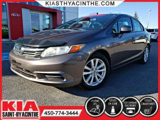 Used 2012 Honda Civic EX-L ** NAVI / CUIR / TOIT / MAGS for sale in St-Hyacinthe, QC