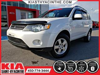 Used 2008 Mitsubishi Outlander LS V6 4WD ** GR ÉLECTRIQUE + A/C for sale in St-Hyacinthe, QC