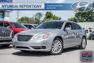 Used 2014 Chrysler 200 Limited V6**CUIR BEIGE, MAGS, A/C** for sale in Repentigny, QC