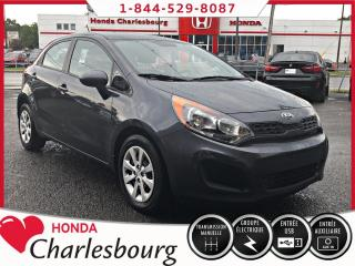 Used 2015 Kia Rio LX **HATCHBACK**66 774 KM** for sale in Charlesbourg, QC