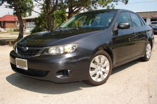 Used 2008 Subaru Impreza 2.5i for sale in Mississauga, ON
