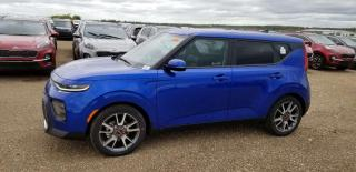 New 2020 Kia Soul 6 MTHS NO PYMT EX LIMITED; ADVANCED SAFETY, NAV, BLUETOOTH, BACKUP CAM, SUNROOF AND MORE for sale in Edmonton, AB