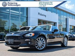 Used 2017 Fiat 124 Spider LUSSO!! MANUAL!! LOADED! for sale in Pickering, ON