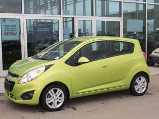 Used 2013 Chevrolet Spark LT / ALLOYS / TOUCHSCREEN RADIO / DIGITAL SPEEDO / GREEN ACCENTS! for sale in Edmonton, AB