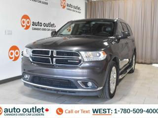 Used 2014 Dodge Durango Limited, 3.6L V6, Awd, Third row 7 passenger seating, Front & Rear heated seats, Heated steering wheel, Backup camera, Sunroof, Bluetooth for sale in Edmonton, AB